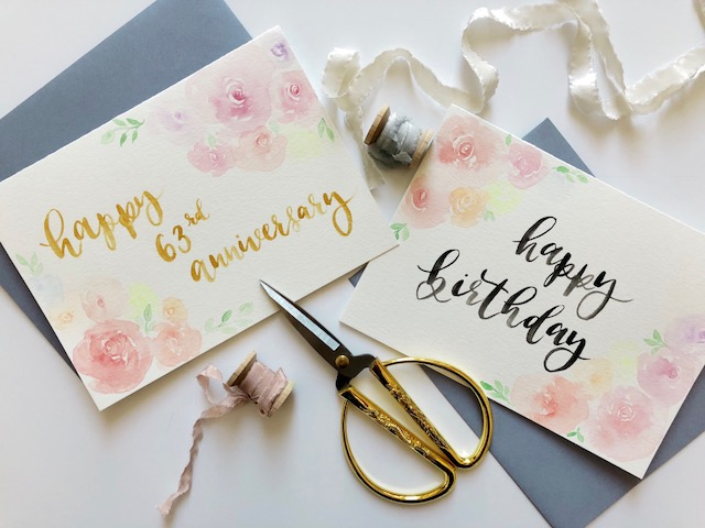 Cecile Lau Calligraphy - Custom cards