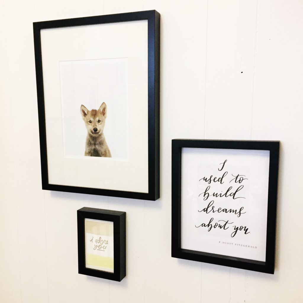 Cecile Lau Calligraphy - Baby nursery print